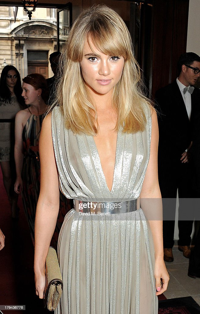 Suki Waterhouse arrives at the GQ Men of the Year awards at The Royal Opera House on September 3, 2013 in London, England.