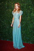 Suki Waterhouse attends the 60th London Evening Standard Theatre Awards at London Palladium on November 30 2014 in London England