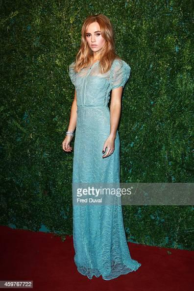 Suki Waterhouse attends the 60th London Evening Standard Theatre Awards at London Palladium on November 30 2014 in London England