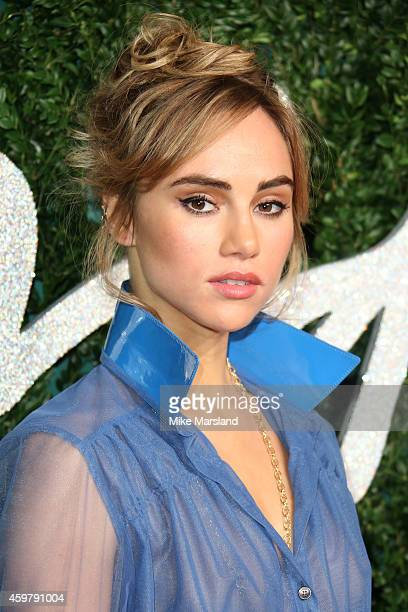 Suki Waterhouse attends the British Fashion Awards at London Coliseum on December 1 2014 in London England