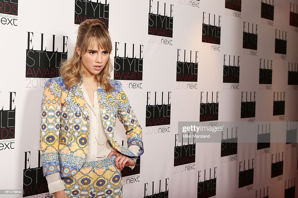 Suki Waterhouse attends the Elle Style Awards 2013 at The Savoy Hotel on February 11, 2013 in London, England.