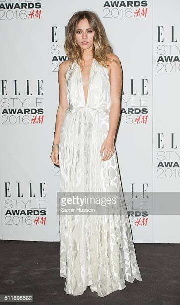 Suki Waterhouse attends The Elle Style Awards 2016 at tate britain on February 23 2016 in London England