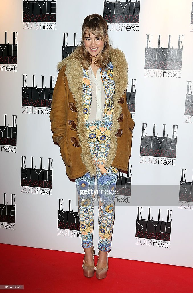 Suki Waterhouse attends the Elle Style Awards at Savoy Hotel on February 11, 2013 in London, England.