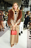 Suki Waterhouse attends the Topshop Unique show during London Fashion Week SS16 at The Queen Elizabeth II Conference Centre on September 20 2015 in...