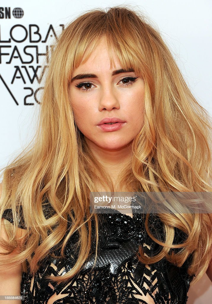 Suki Waterhouse attends the WGSN Global Fashion Awards at The Savoy Hotel on November 5, 2012 in London, England.