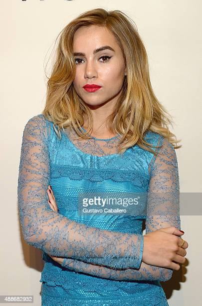 Suki Waterhouse celebrates the launch of Burberry Makeup at Sephora Times Square on September 16 2015 in New York City