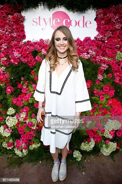 Suki Waterhouse hosts Amazon's Style Code Live Soirée at The Retreat Palm Springs on April 15 2016 in Palm Springs California
