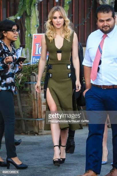 Suki Waterhouse is seen on June 19 2017 in Los Angeles California