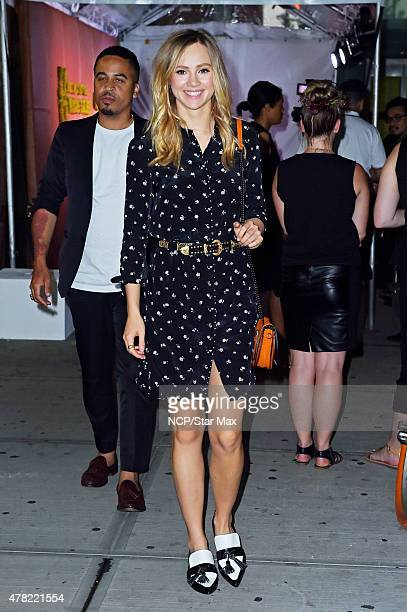Suki Waterhouse is seen on June 23 2015 in New York City