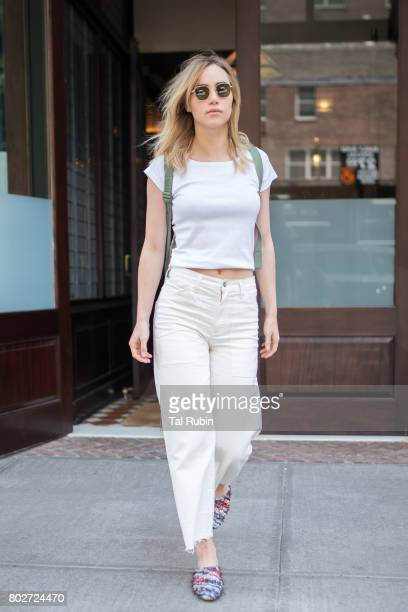 Suki Waterhouse is seen on June 28 2017 in New York City
