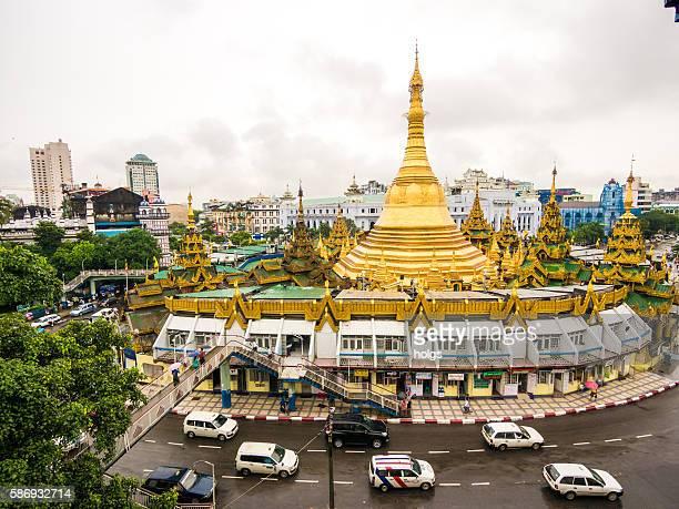 Sule Paya in Yangon, Myanmar