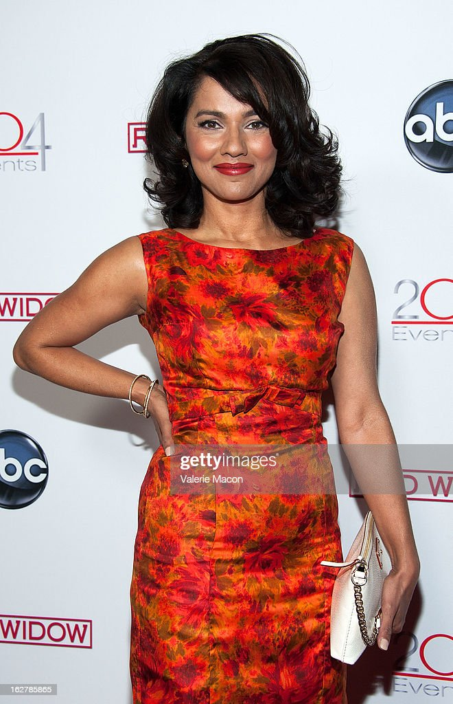Suleka Mathew attends ABC's 'Red Widow' Red Carpet Event at Romanov Restaurant Lounge on February 26, 2013 in Studio City, California.