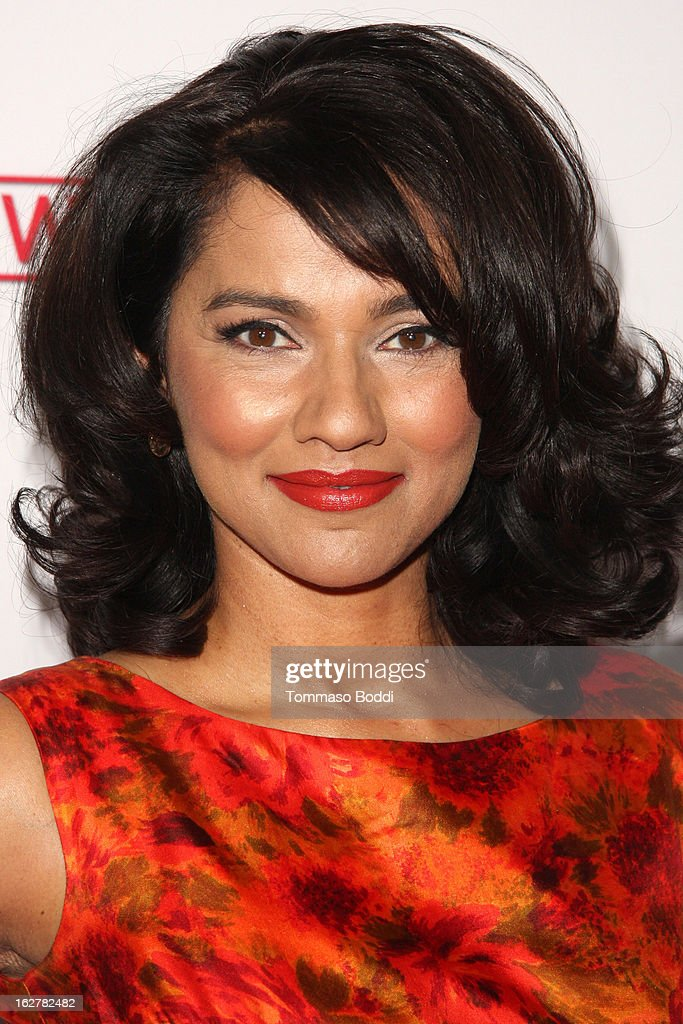 Suleka Mathew attends the ABC's new series 'Red Widow' held at Romanov Restaurant Lounge on February 26, 2013 in Studio City, California.