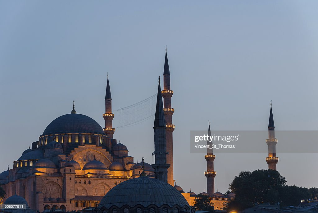 Suleymaniye Mosque : Stock Photo