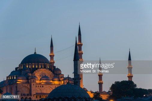 Suleymaniye Mosque : Stock Photo