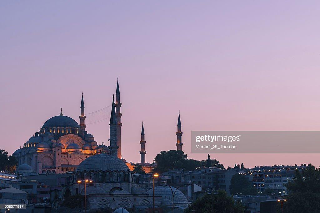 Suleymaniye Mosque : Bildbanksbilder