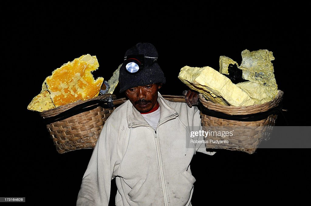 known as Kawah Ijen, is located in the Ijen Volcano region, bordered ...