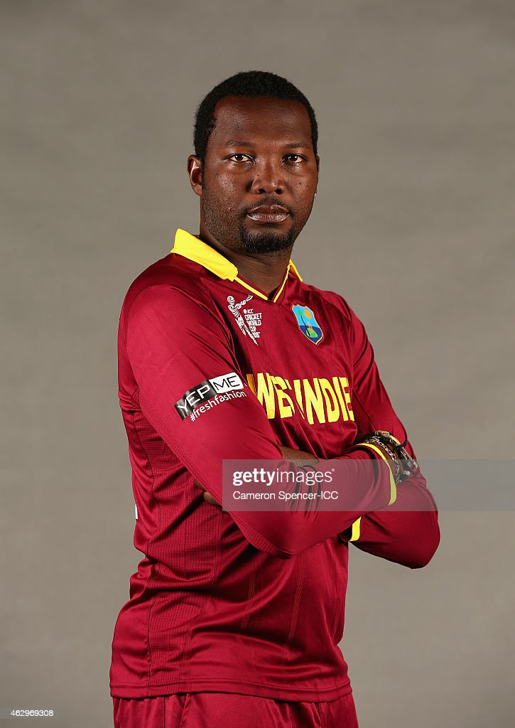 West Indies 2015 ICC Cricket World Cup Headshots Session