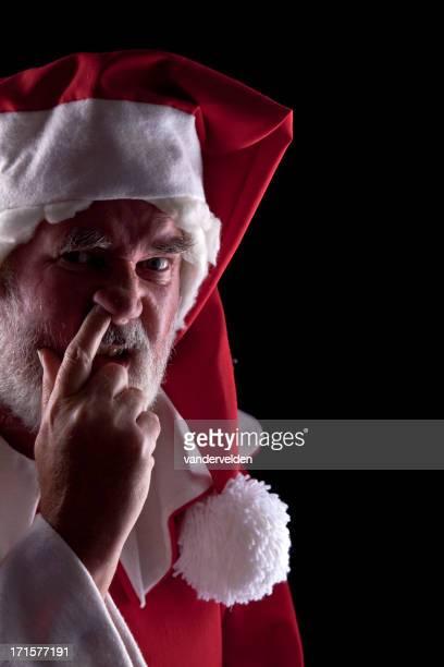 Maussade Santa choisir son nez