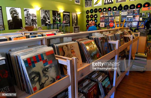 Sullivan's Records features a great selection of vinyl record as well as posters of 1980's rock stars Charleston is the destination for the traveler...
