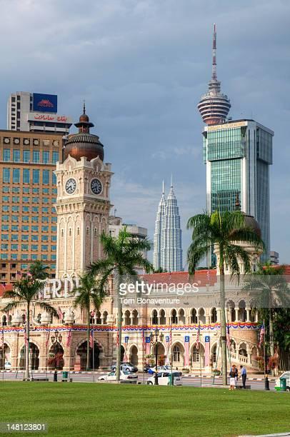 Sultan Abdul Samad Building in Merdeka Square