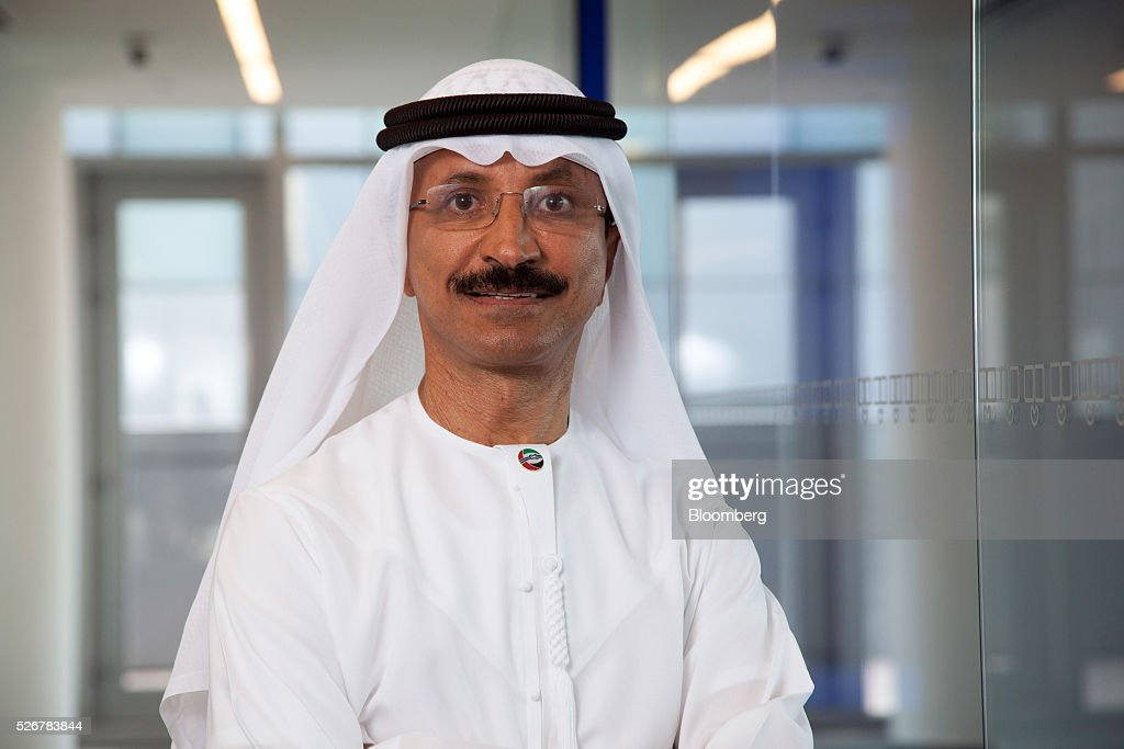 <a gi-track='captionPersonalityLinkClicked' href=/galleries/search?phrase=Sultan+Ahmed+Bin+Sulayem&family=editorial&specificpeople=2162633 ng-click='$event.stopPropagation()'>Sultan Ahmed Bin Sulayem</a>, chief executive officer of DP World Ltd., poses for a photograph following a Bloomberg Television interview in Dubai, United Arab Emirates, on Sunday, May 1, 2016. DP World, the port operator with terminals from China to the Netherlands, expects a return to growth in some European markets after a period of stagnation and said its avoided a hard landing in China. Photographer: Razan Alzayani/Bloomberg via Getty Images