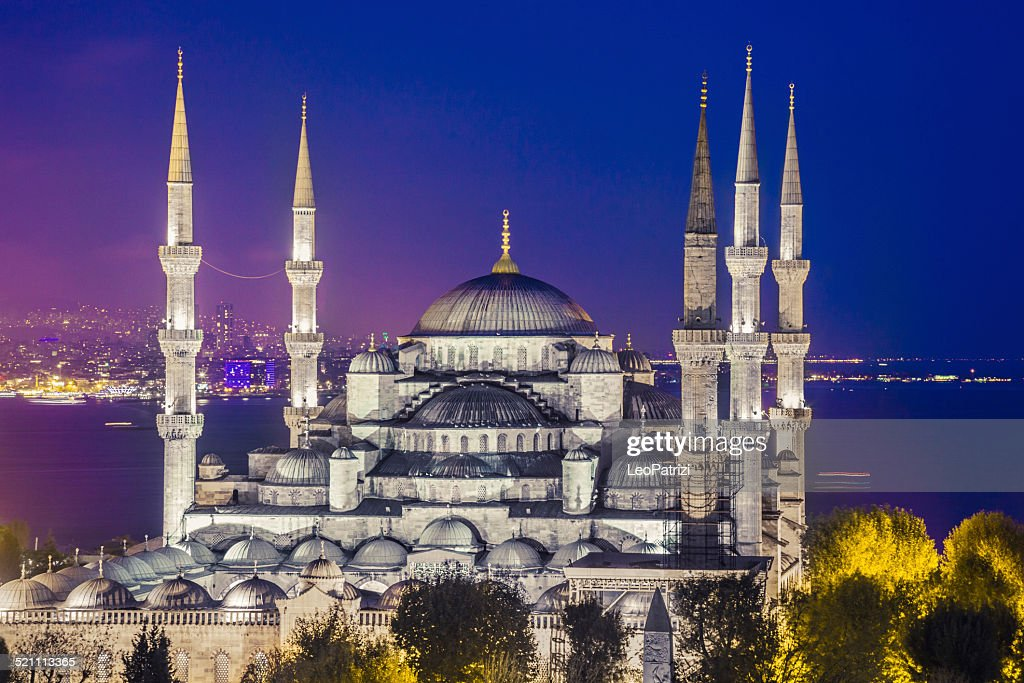 Sultan Ahmet Camii Blue Mosque In Istanbul Stockfoto  Getty Images