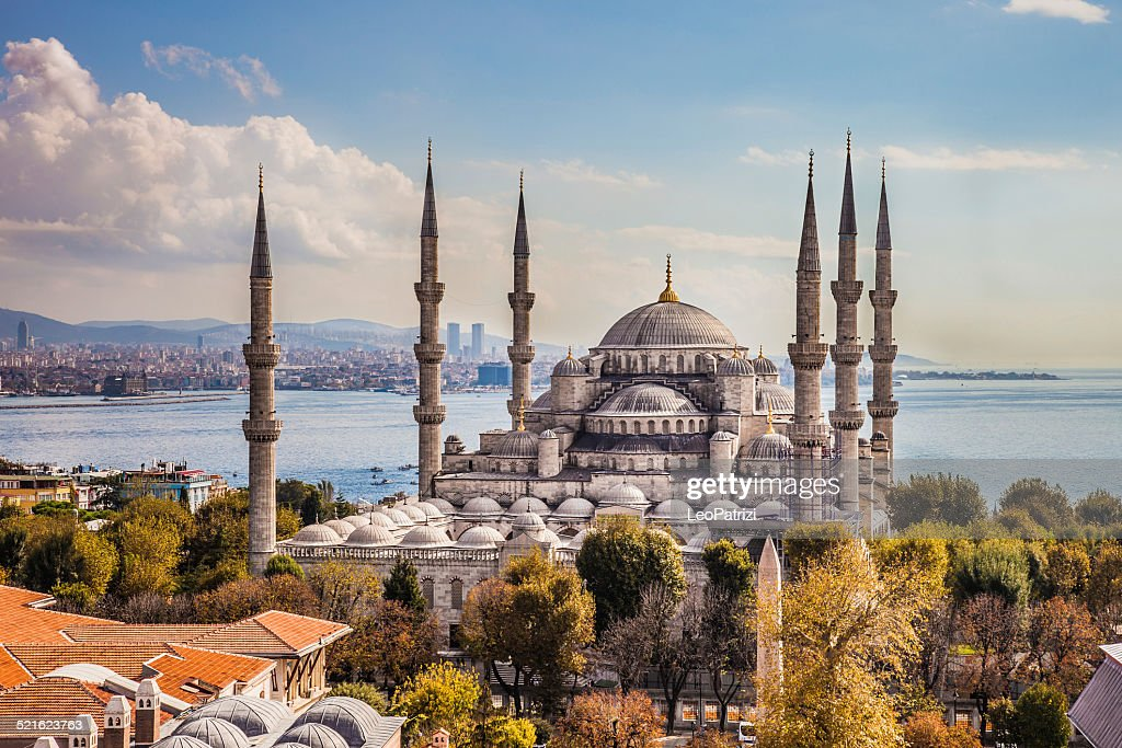 Sultan Ahmet Camii Blue Mosque In Istanbul Stock Photo  Getty Images