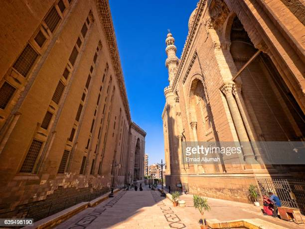 Sultan Hassan Mosque and Al Rifai Mosque, in Cairo, Egypt