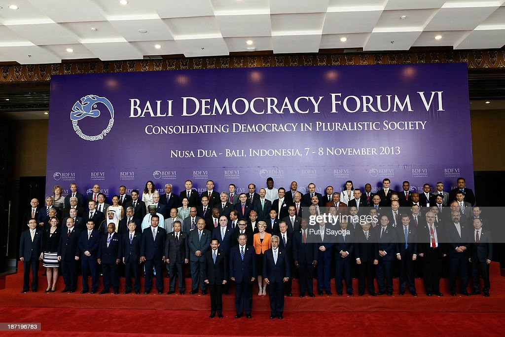 Delegates Gather For Bali Democracy Forum VI