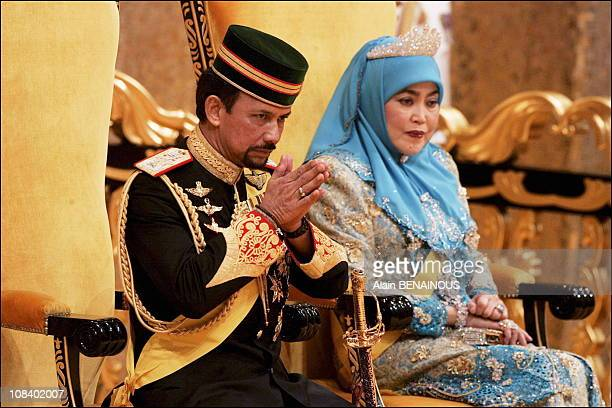 Sultan Of Brunei Palace Stock Photos and Pictures | Getty ...