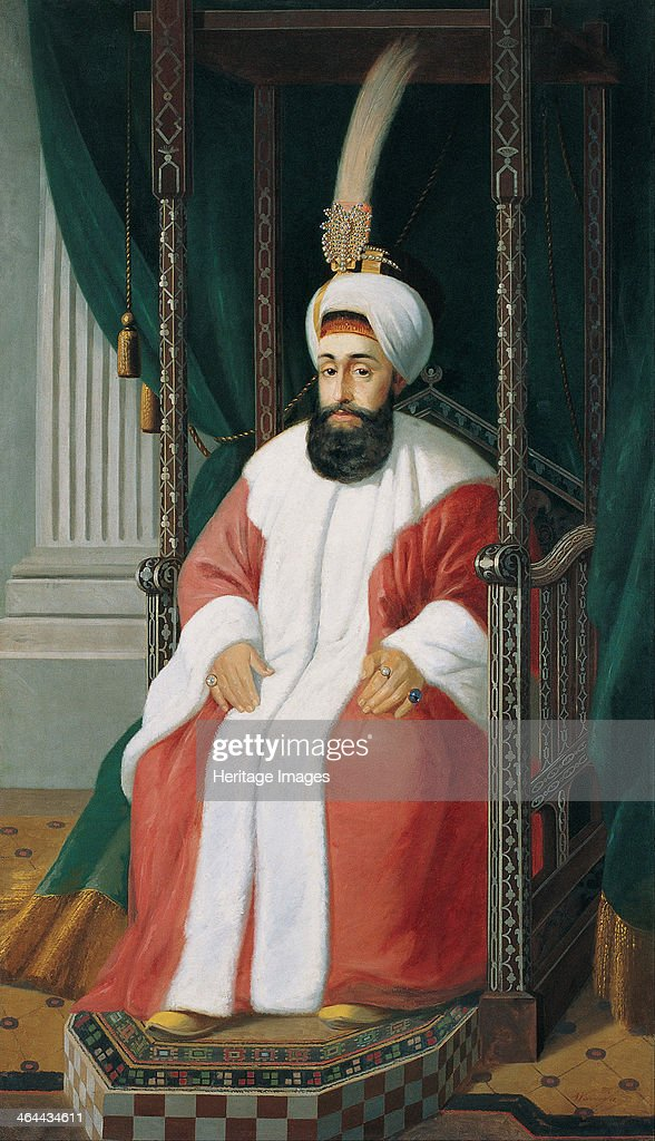 Sultan Selim III 19th century Found in the collection of the Pera Museum Istanbul