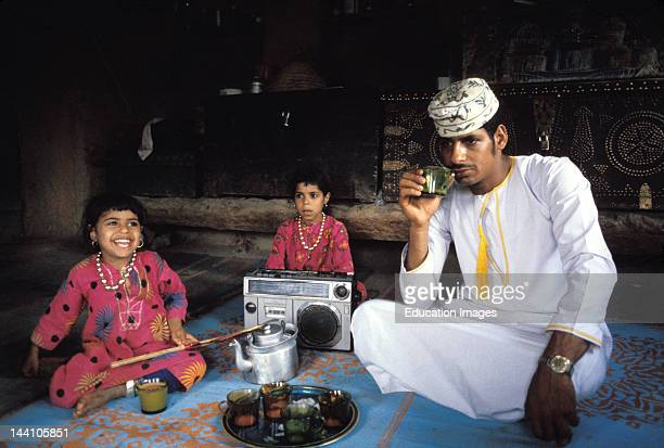 Sultanate Of Oman Al Misfa 22 Year Old Policeman Sitting At Home With Sisters