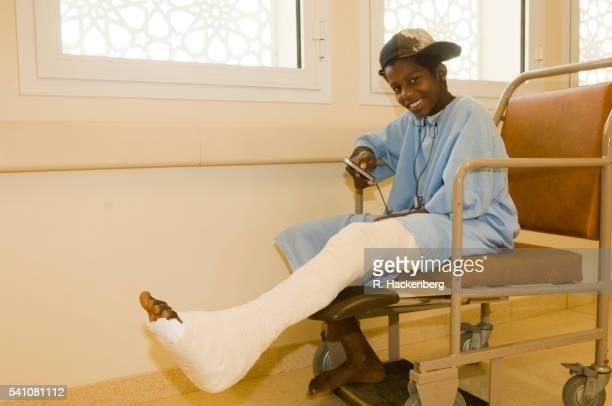 Sultanate of Oman, Boy in the Sohar Hospital