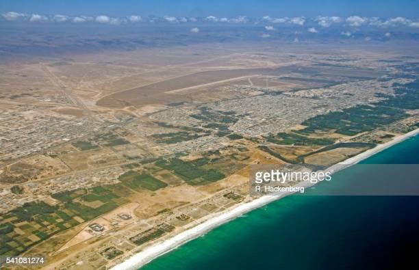 Sultanate Of Oman, Salalah Aerial View Of The Coastline