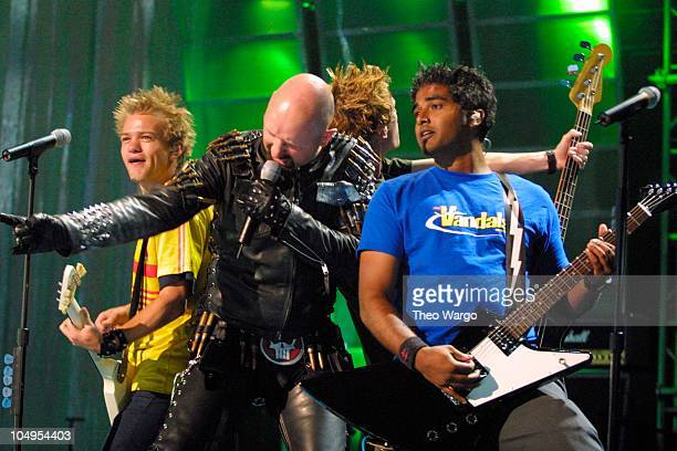 Sum 41 and Rob Halford perform during MTV20 Live and Almost Legal Show MTV celebrated with a threehour live party with special guests performances...