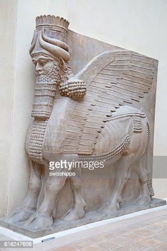 Sumerian artefacto : Foto de stock