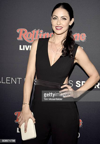 Summer Altice attends the Rolling Stone Live Party on their engagement day at San Francisco Design Center on February 6 2016 in San Francisco...