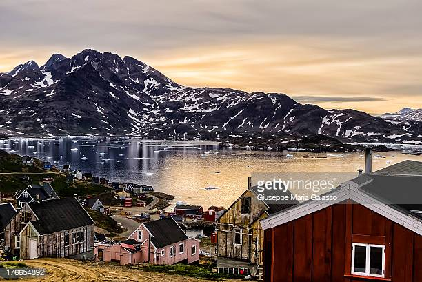 CONTENT] Summer arctic night in Angmassalik Eastern Greenland