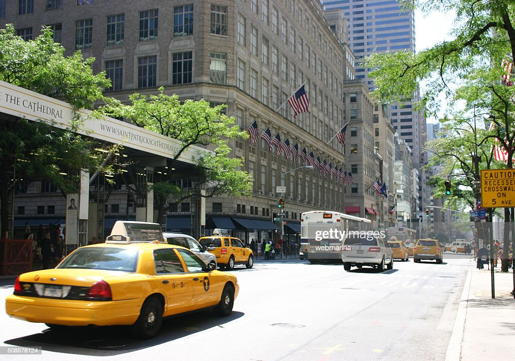 Summer at 5th Avenue, New York City : Stock Photo