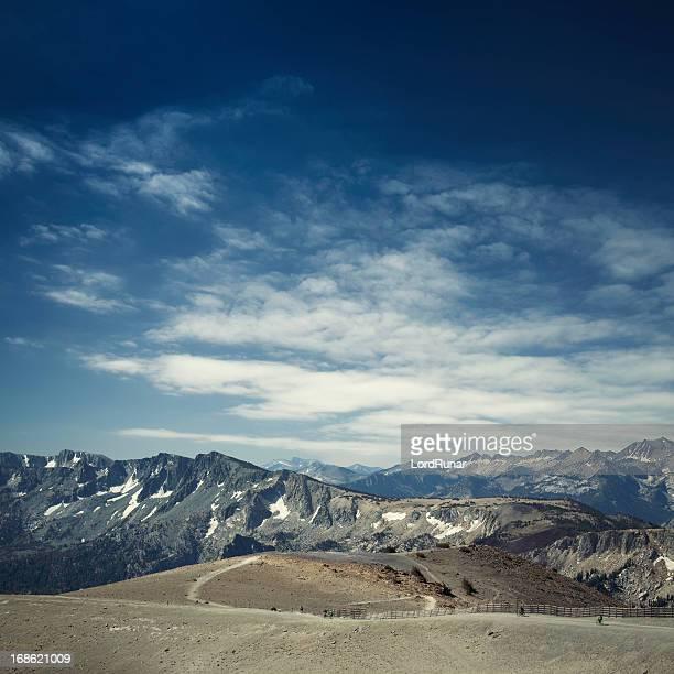 Mammoth la montaña en verano