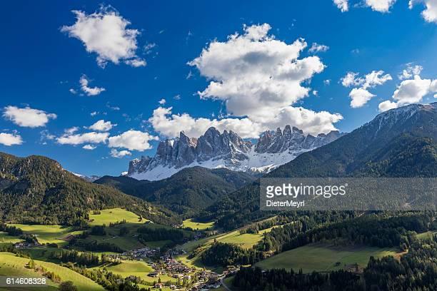 Summer at Villnöss with geisler group, Alps - southtirol
