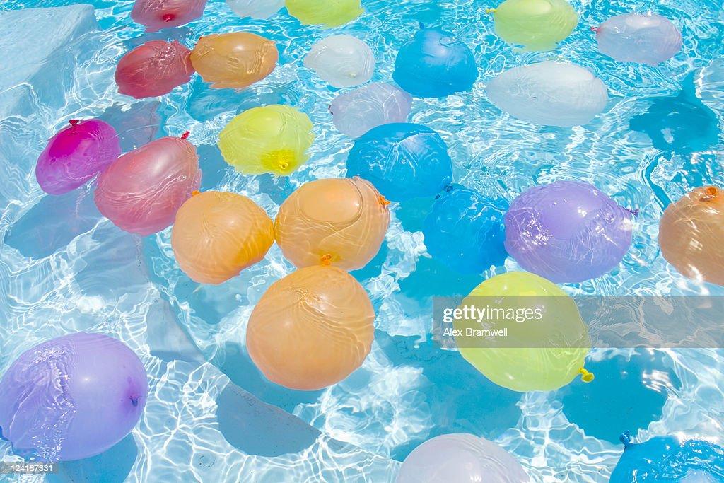 Summer balloons : Stock Photo