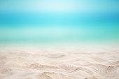 Summer concept with sandy beach
