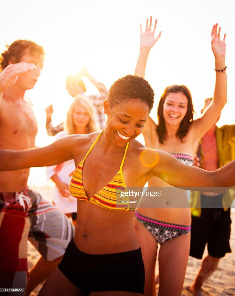 Summer Beach Party : Stock Photo