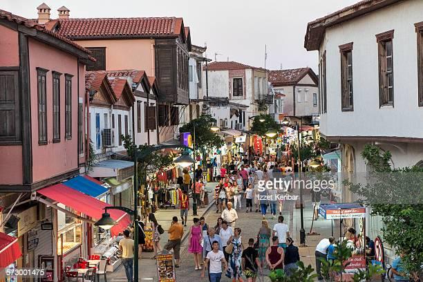 Summer crowds at Cesme town, near Izmir Turkey