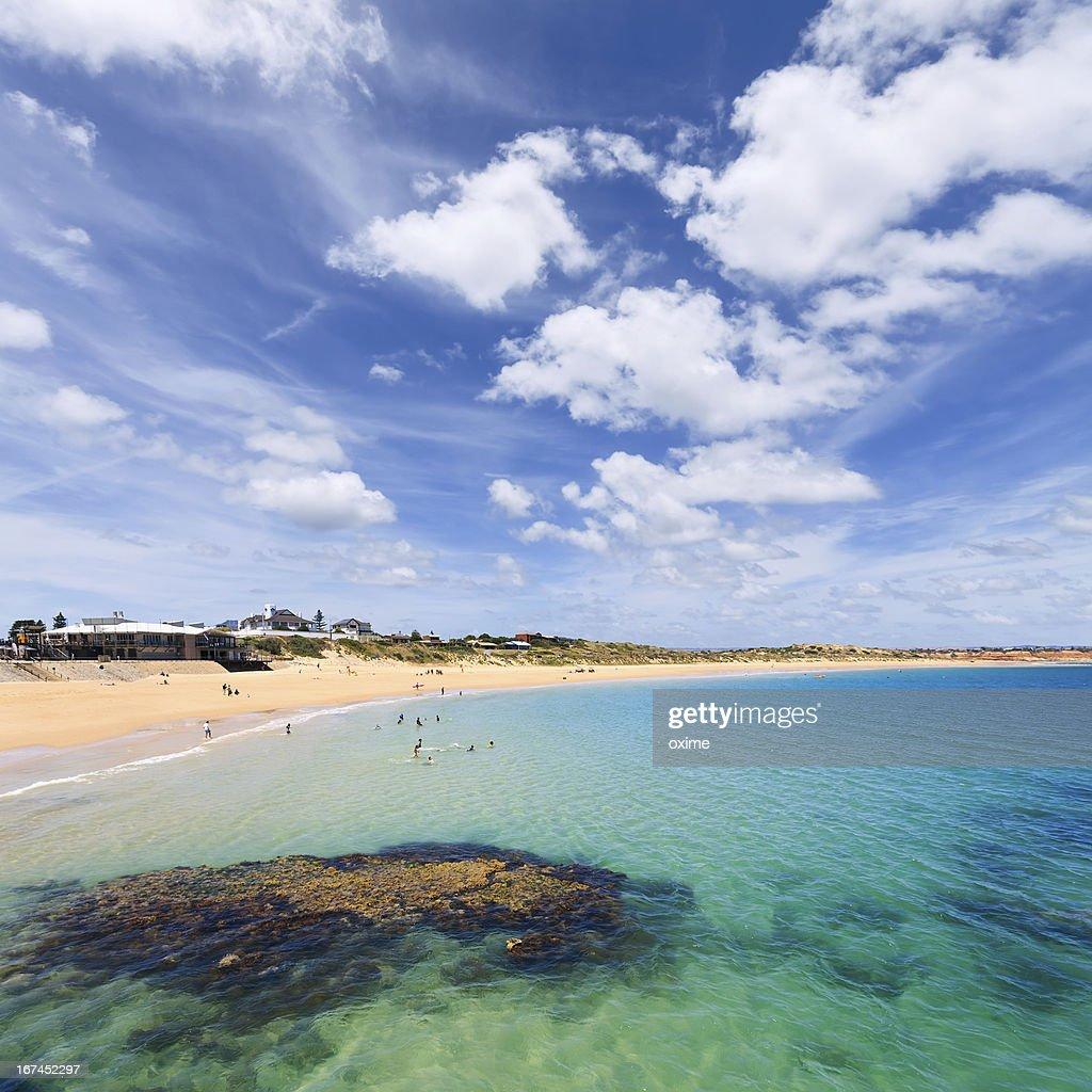 summer days in Port Noarlunga : Stock Photo