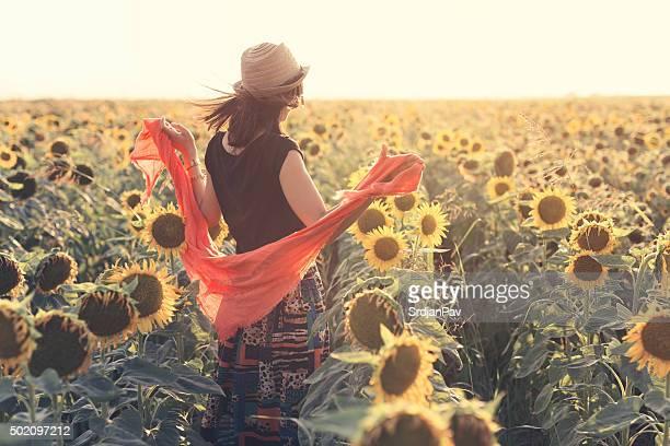 夏の普通の女の子