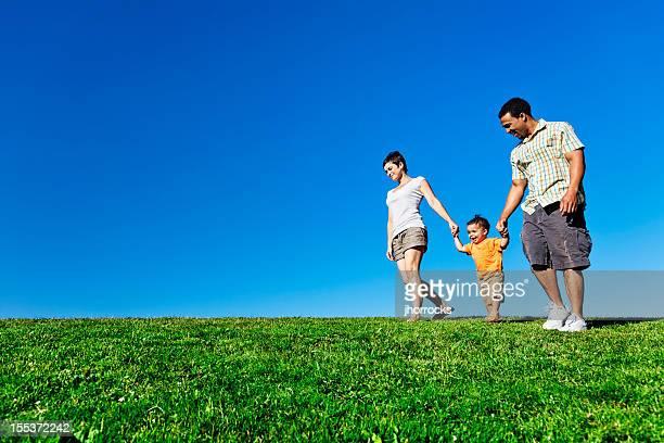 Promenez-vous en famille l'été