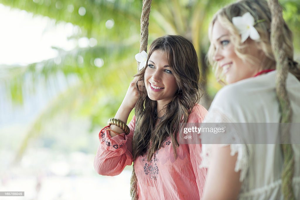 Summer Fashion, Female Lifestyle : Stock Photo